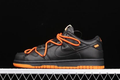 Nike Dunk Low x OW x FL Black Orange