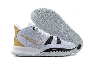 Nike Kyrie 7 White Black Gold