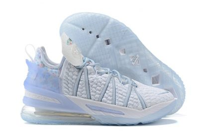 Nike LeBron 18 All-Star Play for the Future Blue Tint Clear-White