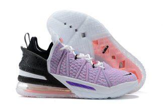 Nike LeBron 18 Multicolor Purple Pink Blue