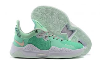 Nike PG 5 Play For The Future Green White CW3143-300 On Sale