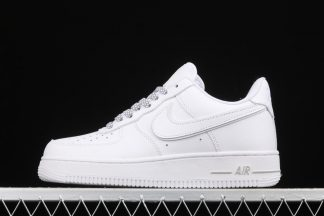 Reflective 3M Nike Air Force 1 07 All White