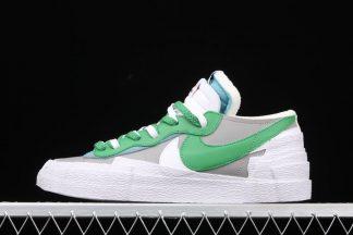Sacai x Nike Blazer Low Classic Green DD1877-001 On Sale