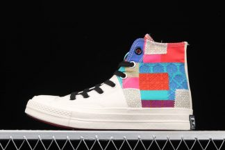 Unisex Converse Chuck Taylor All Star 70 Hi Beige Chile Red Blue