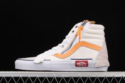 Vans Vault Sk8-Hi Cap LX White Orange