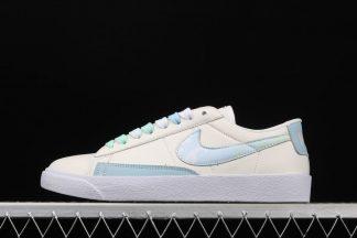 Womens Nike Blazer Low Sail Celestine Blue