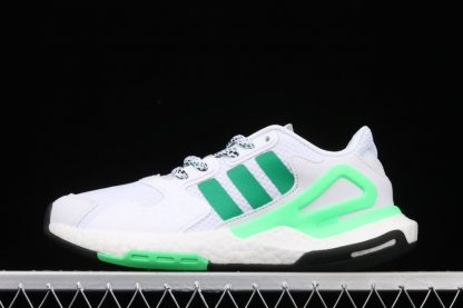 adidas Day Jogger White Green Running Shoes