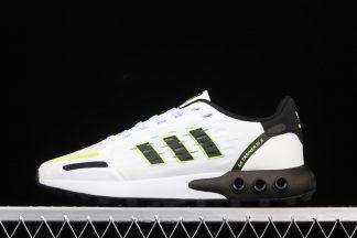 adidas LA Trainer 3 III Cloud White Core Black-Solar Yellow