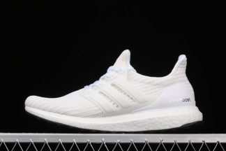 adidas UltraBOOST 4.0 Triple White Running Shoes