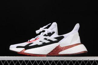 adidas X9000L4 City-Street Running Sneaker White Black Copper