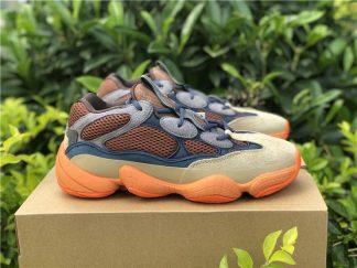 adidas Yeezy 500 Enflame Brown Blue Orange