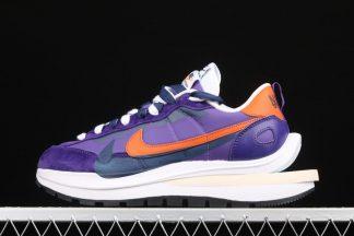 sacai x Nike Vaporwaffle Dark Iris Purple