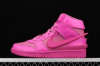 AMBUSH x Nike Dunk High Active Fuchsia Lethal Pink