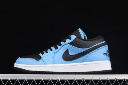Air Jordan 1 Low University Blue Black 553558-403 Pas Cher