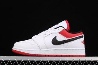 Air Jordan 1 Low White Gym Red 553560-118 To Buy