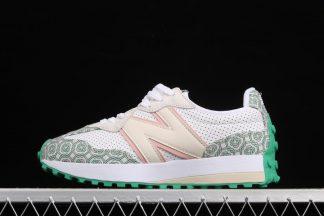 Casablanca x New Balance 327 Munsell White Green