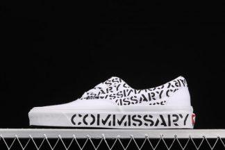 Commissary x Vans Era 95 DX White Black On Sale