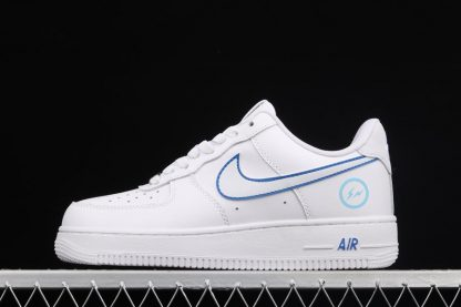Fragment Design x Nike Air Force 1 Low White Blue