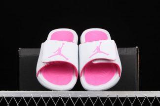 Jordan Hydro 6 Slides White Pink Schuhe Kaufen