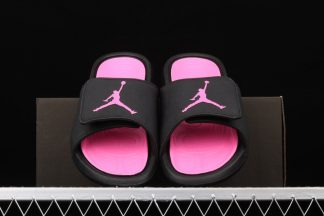 Jordan Hydro 6 Slides Youth Black Pink