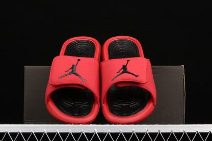 Negozio Online Jordan Hydro 6 Slides Gym Red Black