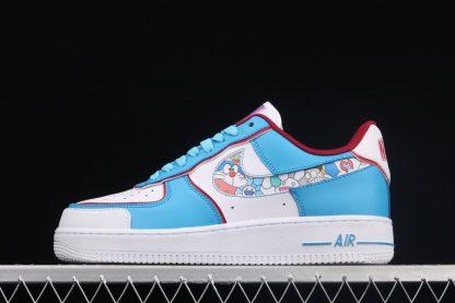 Nike Air Force 1 07 Doraemon White Blue Online Kopen