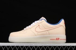 Nike Air Force 1 Low 07 LV8 Ice Sole Guava Ice Game Royal