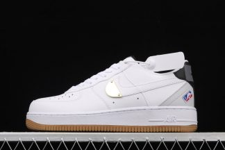 Nike Air Force 1 Low NBA Pack White Grey Gum CT2298-100 To Buy