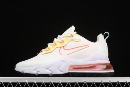 Nike Air Max 270 React Pale Ivory Summit White Barely Green