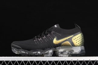 Nike Air VaporMax Flyknit 2 Black Gold 942842-015 To Buy