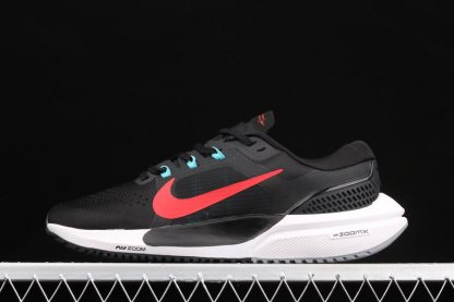 Nike Air Zoom Vomero 15 Black Red Mens Running Shoes
