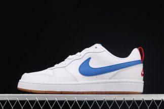 Nike Court Borough Low 2 White Blue