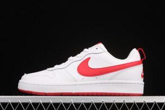 Nike Court Borough Low 2 White University Red