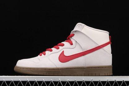 Nike Dunk High Pro SB Birch Hyper Red 305050-206 Schuhe Kaufen