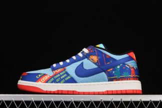 Nike Dunk Low CNY Firecracker Copa Hyper Blue-Chile Red-Sail