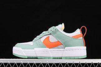 Nike Dunk Low Disrupt Sea Glass Green Orange