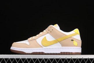 Nike Dunk Low Lemon Drop Opti Yellow Sail Zitron