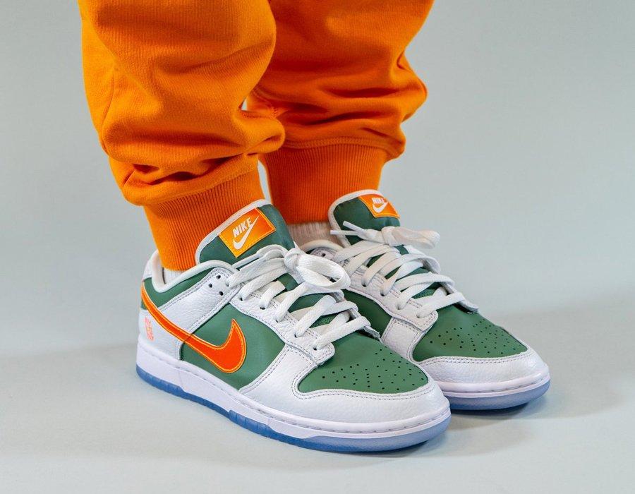 Nike Dunk Low NY vs. NY On Feet