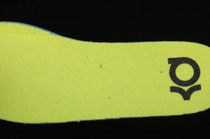 Nike KD 14 Cyber White Lime Green CZ0170-101 Insole