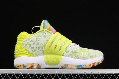 Nike KD 14 Cyber White Lime Green CZ0170-101 Medial