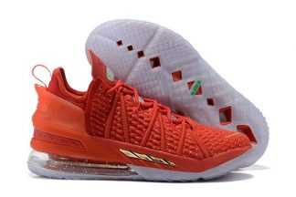 Nike LeBron 18 X-Mas in LA Christmas Red DB8148-601 To Buy