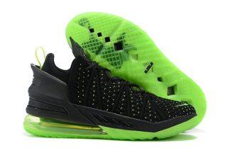 Nike Lebron 18 Dunkman Green Black CQ9283-005 On Sale