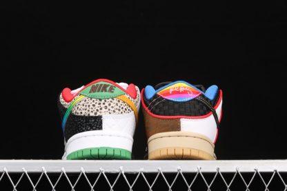 Nike SB Dunk Low What The P-Rod CZ2239-600 Heel