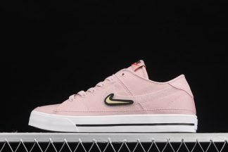 Nike WMNS Court Legacy Valentines Day Champagne White Black