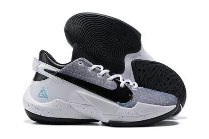 Nike Zoom Freak 2 Denim White Black-Bright Mango