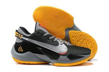 Nike Zoom Freak 2 Taxi Black Metallic Silver-Yellow