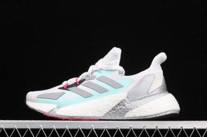 Womens Adidas X9000L4 Crystal White Silver Metallic-Core Black FW8405 To Buy