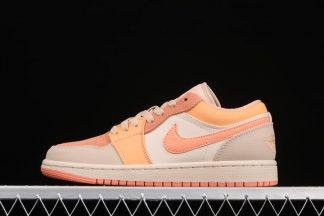 Womens Air Jordan 1 Low Atomic Orange On Sale