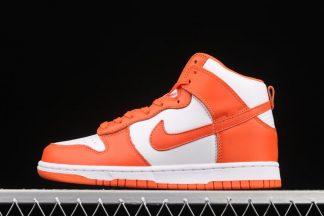 2021 Nike Dunk High Syracuse Orange Blaze DD1399-101 To Buy