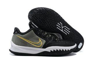 CZ0105-001 Nike Kyrie Low 4 Black White Yellow